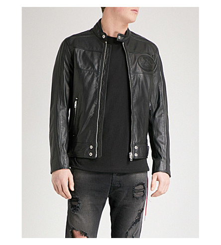 DIESEL L-Street leather jacket (Black