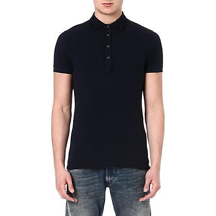 DIESEL T Freira polo shirt (81e (teal)