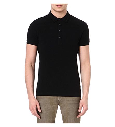 DIESEL T Freira polo shirt (901 (black)
