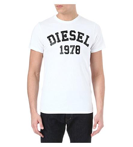 DIESEL Tehm t-shirt (100 (white)