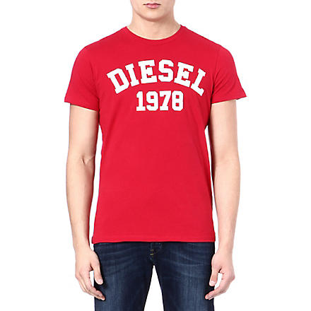 DIESEL Tehm t-shirt (41m+(red)