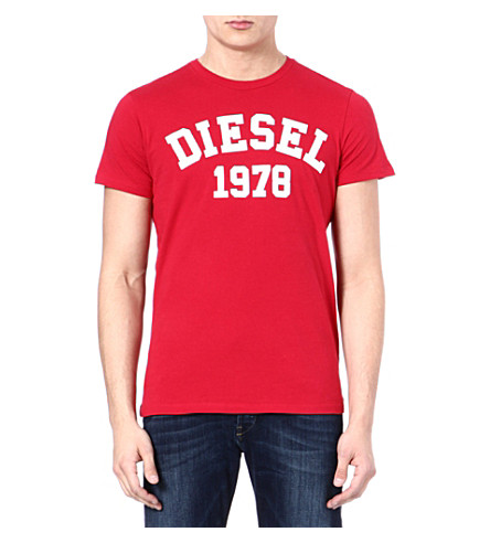 DIESEL Tehm t-shirt (41m (red)