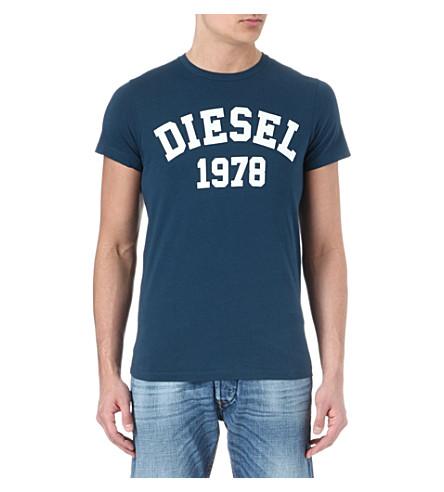 DIESEL Tehm t-shirt (89i (teal)