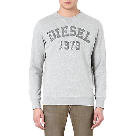 DIESEL S Henner sweatshirt (912 (grey)