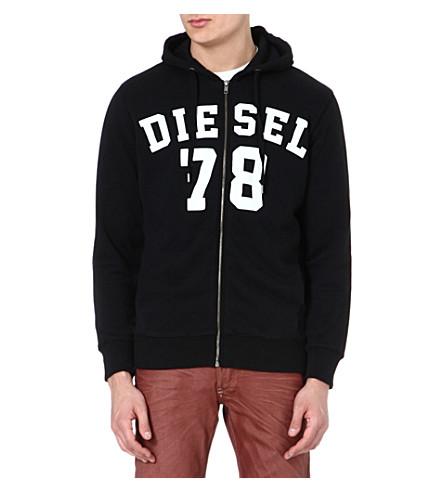 DIESEL S Gunter hoody (900 (black)