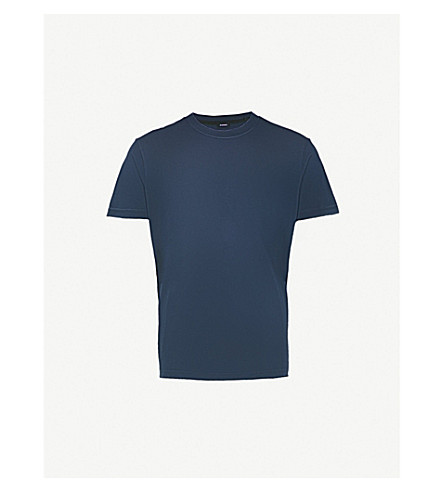 DIESEL Joey cotton-jersey T-shirt (Total+eclipse