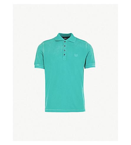 DIESEL T-Night cotton-piqué polo shirt (Bosphorus
