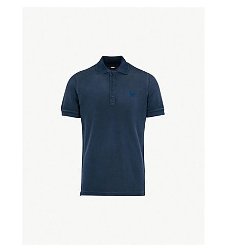 DIESEL T-Night cotton-piqué polo shirt (Total+eclipse