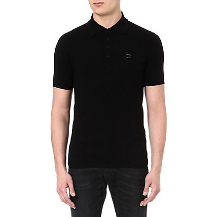 DIESEL K Chameli polo shirt (900 (black)