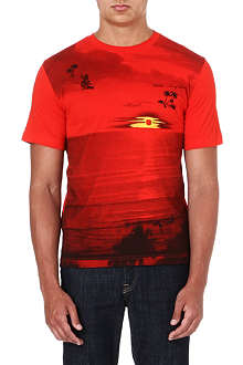 DIESEL Digital-print t-shirt