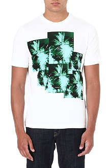 DIESEL Jungle-print t-shirt