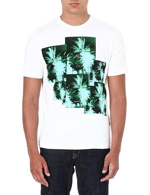 DIESEL Jungle-print t-shirt