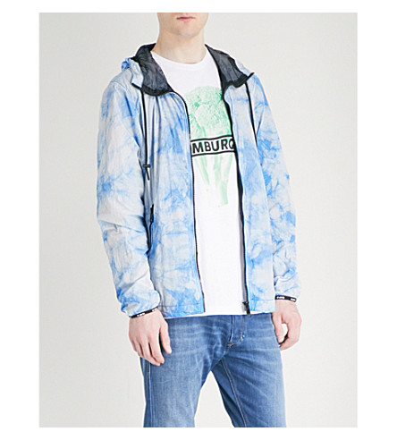 DIESEL Jpinal shell jacket (Imperial+blue