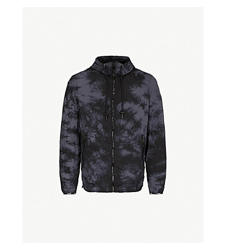 DIESEL J-Pinal shell jacket (Black