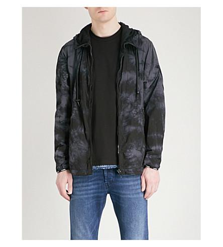 DIESEL J-Pinal shell jacket (Black