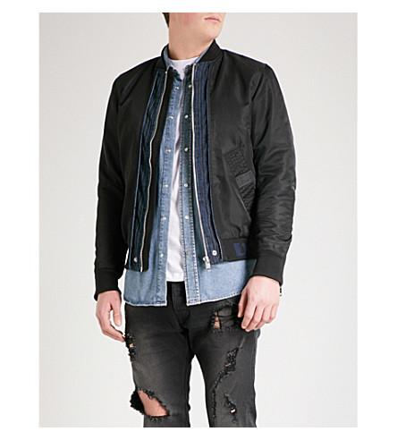 DIESEL Jgateden shell jacket (Black