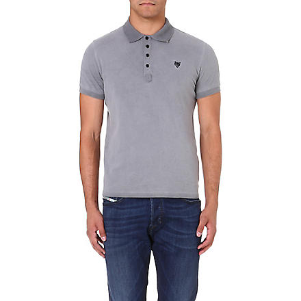 DIESEL T-Dada polo shirt (Grey