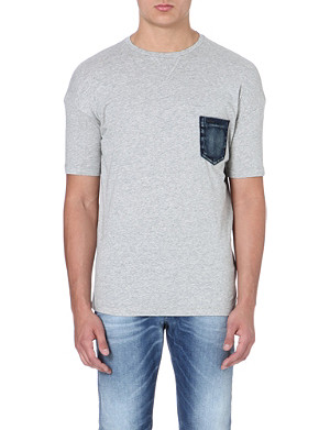 DIESEL T-dara cotton-jersey t-shirt