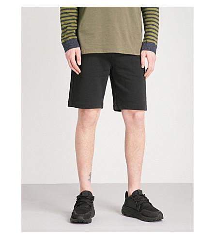 DIESEL P-Globe cotton-jersey shorts (Black