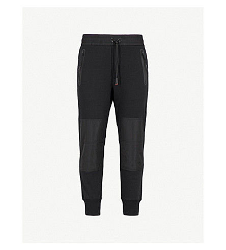 DIESEL P-Grand regular-fit cotton-jersey jogging bottoms (Black