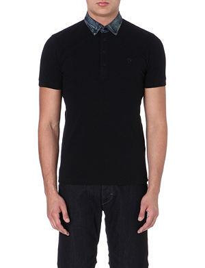 DIESEL T-afua cotton polo shirt