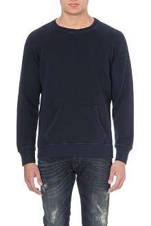 DIESEL S-tau cotton-jersey sweatshirt