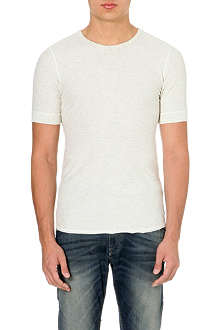 DIESEL T-sivila cotton t-shirt