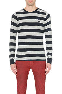 DIESEL T-Colty cotton-jersey top