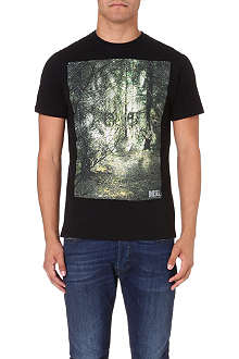 DIESEL T-ebo cotton-jersey t-shirt