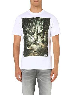 DIESEL T-ebo cotton-jersey t-shirt