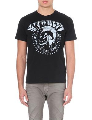 DIESEL T-bert cotton-jersey t-shirt