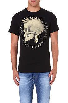 DIESEL T-feddo cotton-jersey t-shirt