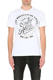 DIESEL T-balder cotton-jersey t-shirt