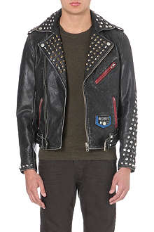 DIESEL L-sneh leather jacket