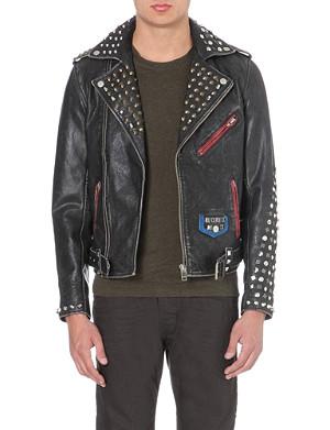 DIESEL L-sneh leather jacket