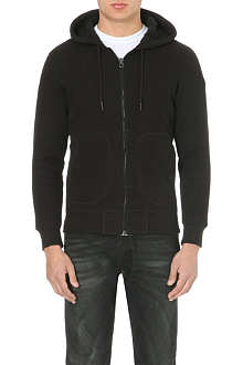 DIESEL S-popo cotton zip-through hoody