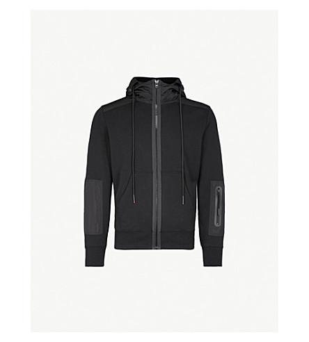 DIESEL S-Cruz cotton-jersey hoody (Black