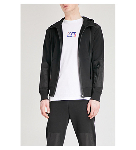DIESEL S-Cruz cotton-jersey hoody (Black
