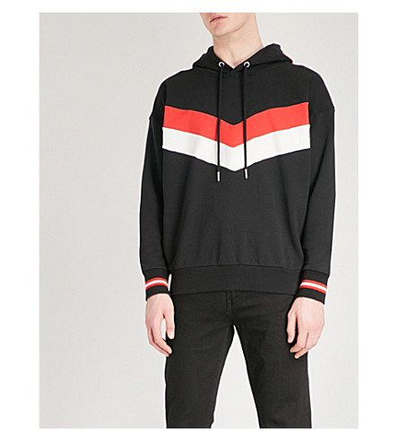 DIESEL S-Lisa cotton-jersey hoody (Black