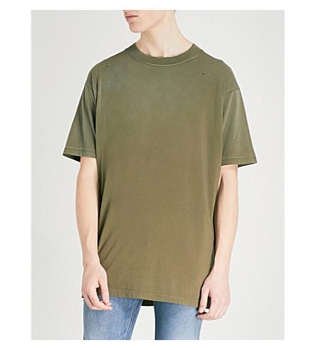 T gila noche de de de algodón oliva jersey camiseta DIESEL a6q1wdP6x
