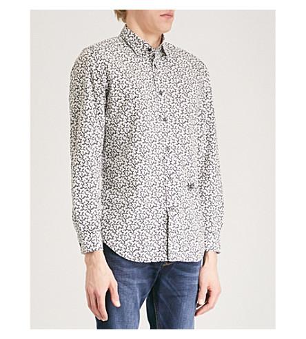 DIESEL S-Duny cotton shirt (Vapourous+gray