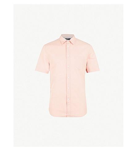 DIESEL Svenetianlin regular-fit cotton and linen-blend shirt (Misty+rose