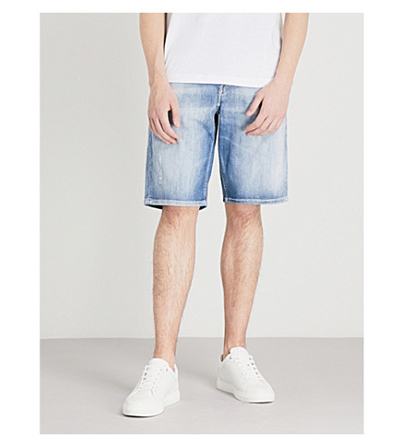 DIESEL Keeshort stretch-denim shorts (Denim