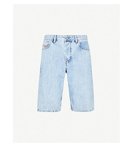 DIESEL Faded denim shorts (Denim