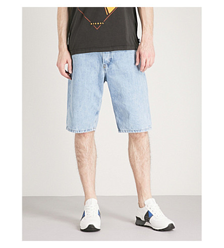 DIESEL Faded denim shorts (Denim