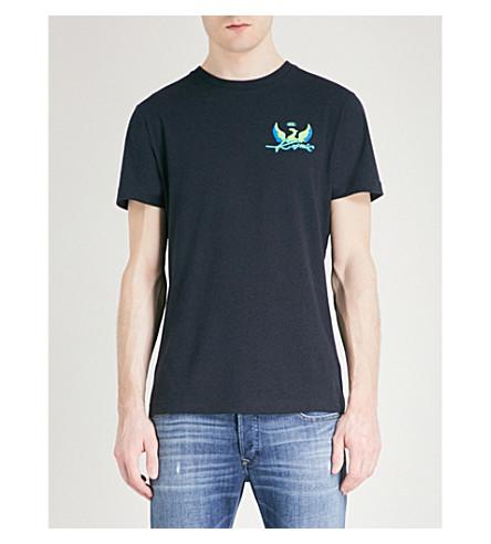 DIESEL T-diego-sp printed cotton-jersey T-shirt (Black