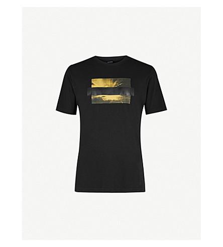 DIESEL T-Just-SN printed cotton-jersey T-shirt (Black