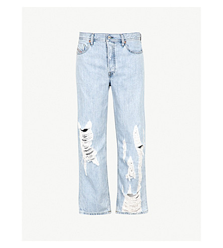 DIESEL Dagh regular-fit straight-leg jeans (Denim