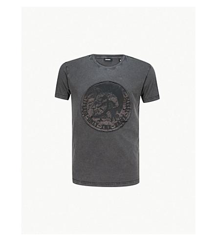 DIESEL T-Diego-Sk cotton-jersey T-shirt (Black