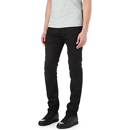DIESEL Tribute regular slim-fit straight jeans (Black